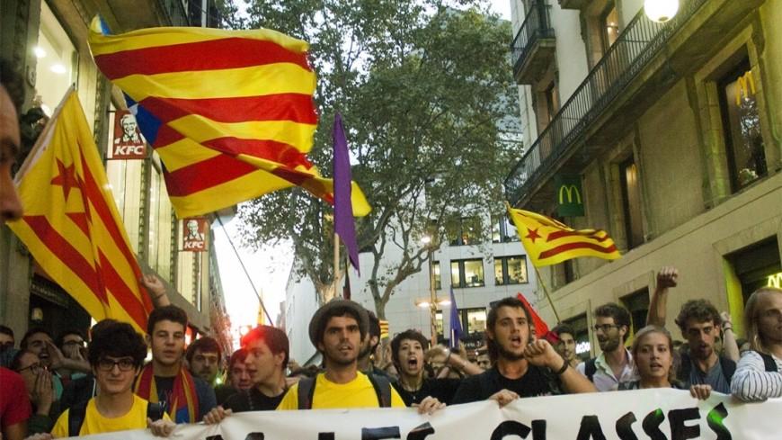 Суд Испании отменил резолюцию о провозглашении Каталонией суверенитета