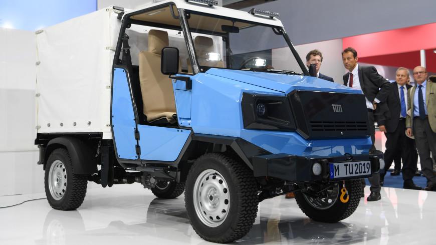 Врамках Франкфуртского автомобильного салона был представлен электрокар для африканских сел