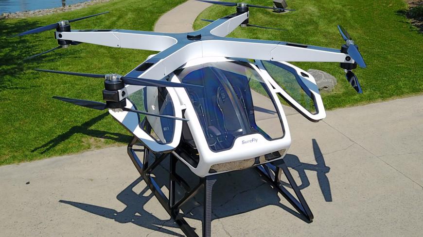 Продажи первого пассажирского дрона Passenger Drone начнутся в 2018г