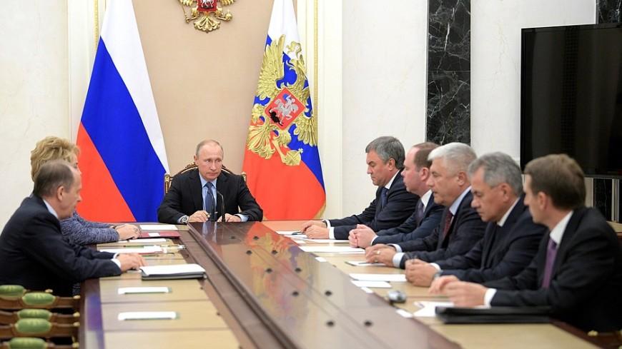 Путин обсудил сСовбезом РФ ситуацию вокруг Дейр-эз-Зора
