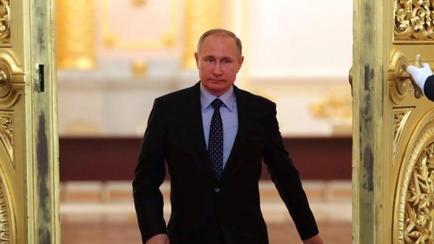 Владимир Путин поздравил граждан столицы сДнем города