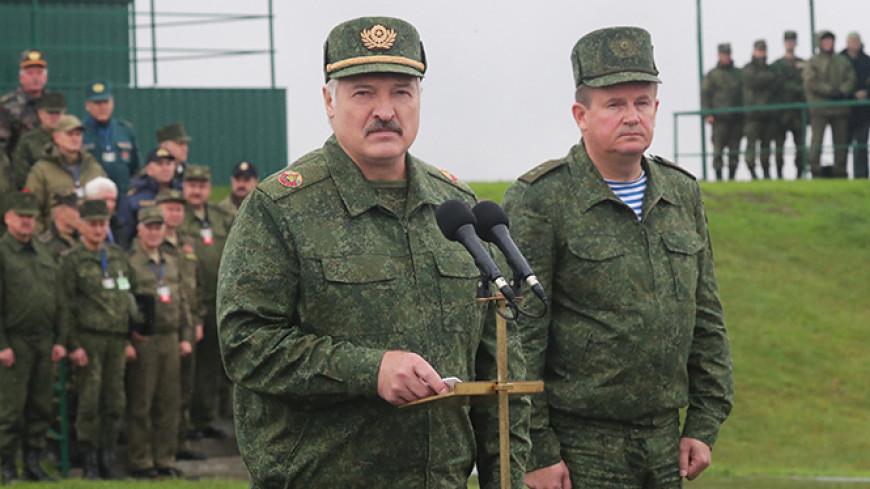 Лукашенко: Белорусская армия скоро получит ударные беспилотники