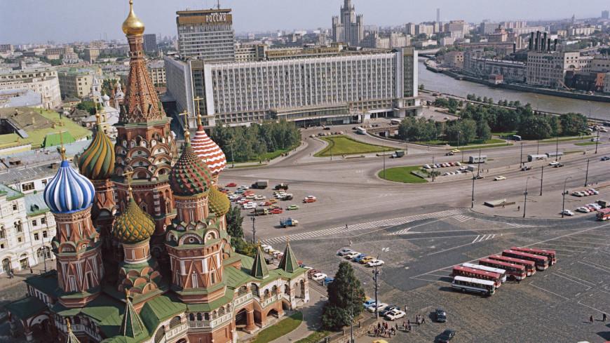 Легендарная «Россия»: что было на месте «Зарядья»