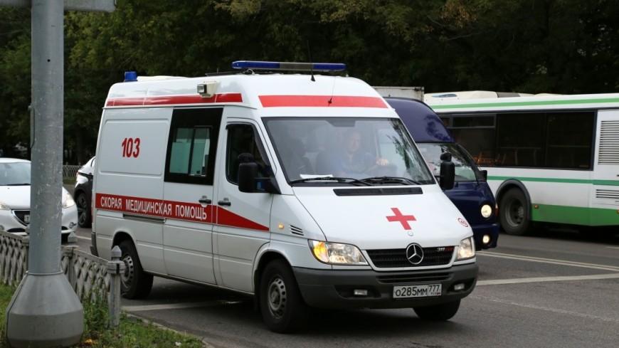 «Скорая» и иностранная машина  столкнулись наюго-западе столицы : трое пострадали