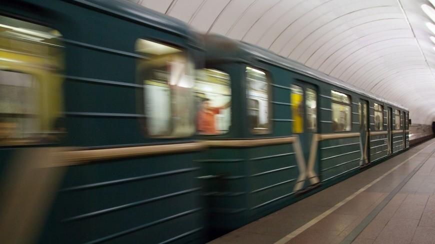 В столице насиней ветке метро произошел сбой
