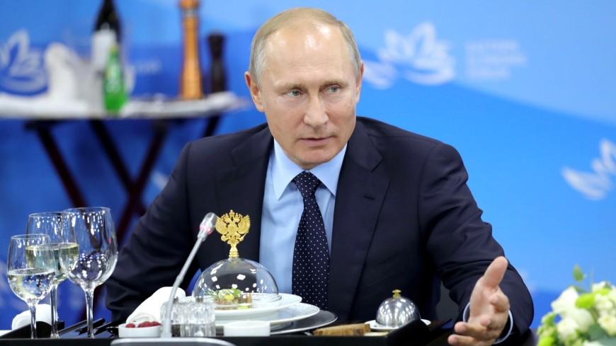 ВЭФ: Путин обсудил проекты с представителями азиатского бизнеса
