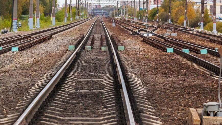 В российской столице пассажирский поезд сбил 2-х человек
