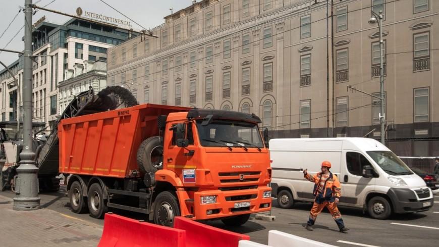 Новая схема разметки на московских улицах увеличила пропускную способность