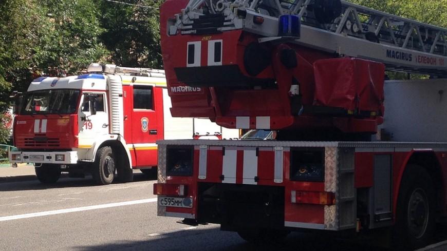 ВБалашихе вовремя пожара погибли пенсионер иребенок