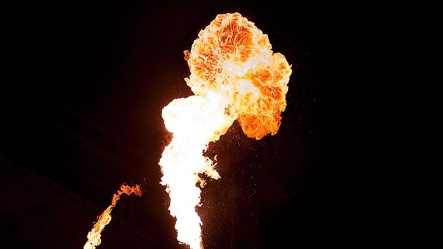Горящее горючее выплеснулось на наблюдателей нагонках вАвстралии