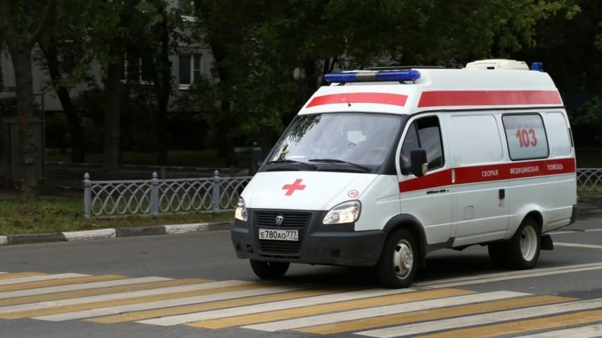 ВПодмосковье КамАЗ выехал на«встречку» ипротаранил 7 машин
