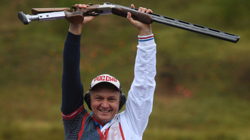 Русский стрелок Фокеев стал чемпионом мира вдабл-трапе