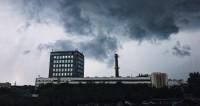 Москва, потрепанная ветром