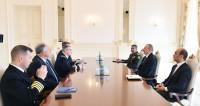 Ильхам Алиев провел встречу с главкомом НАТО в Европе