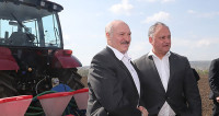 Посадили кукурузу, на очереди – виноград. Додон позвал Лукашенко в родное село