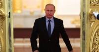 Путин осмотрел футбольный парк на Красной площади