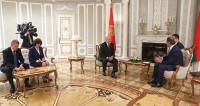 Лукашенко обсудил с сирийским министром двусторонние отношения