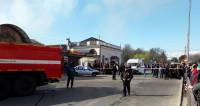 Пожар в Нальчике: огонь один за другим уничтожает торговые павильоны