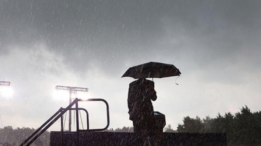 На Москву надвигается шторм