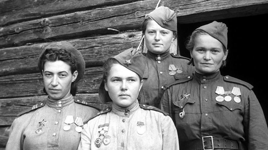 Война не место для женщин?