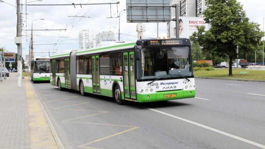 Собянин: Обновление автобусного парка Москвы завершится в этом году