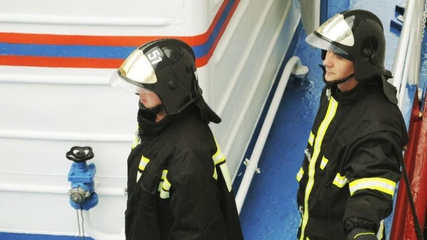 Посетителей московского ТЦ эвакуировали из-за возгорания