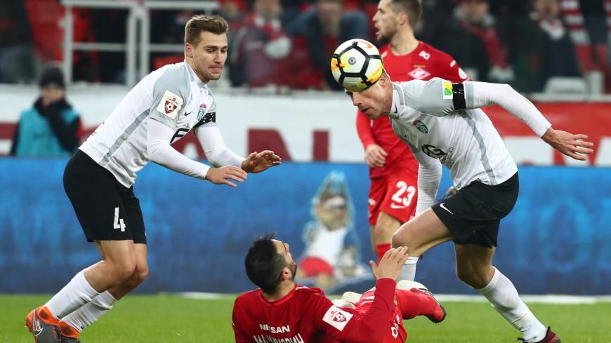 «Тосно» обыграл «Спартак» и вышел в финал Кубка России по футболу