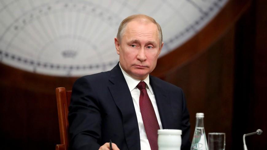 Школьники рассказали Путину об увеличении территории России