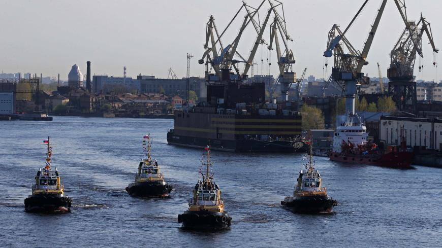 В Петербурге буксиры исполнят вальс