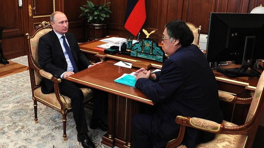 Путин поблагодарил Тулеева за работу