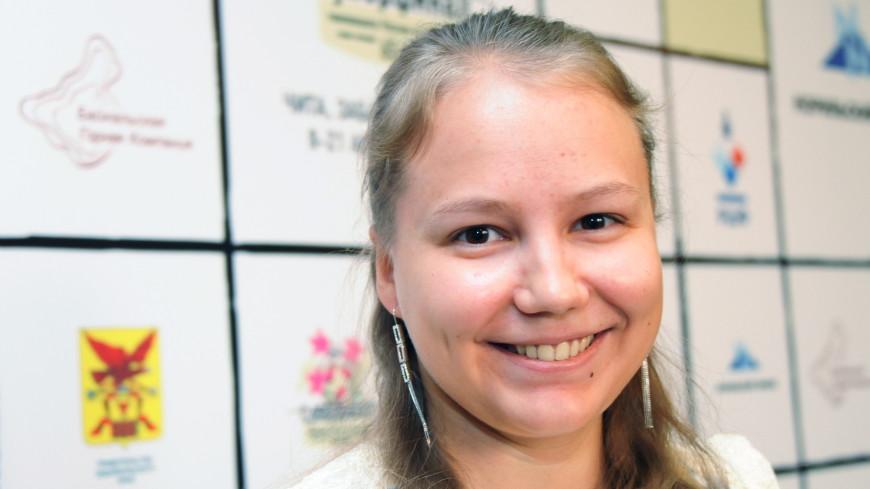 Шахматистка Гунина в третий раз стала чемпионкой Европы