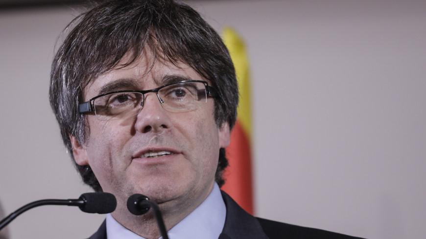 В Германии под залог в €75 тысяч отпустили Пучдемона