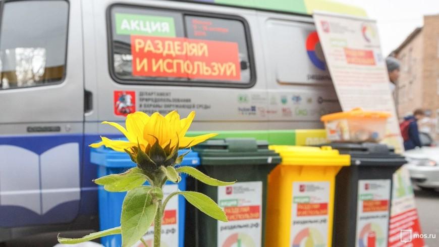 Москвичам расскажут о раздельном сборе мусора