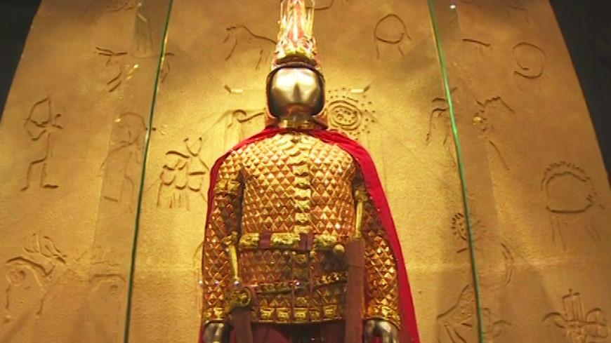 Москвичи увидят знаменитого казахстанского «Золотого человека»