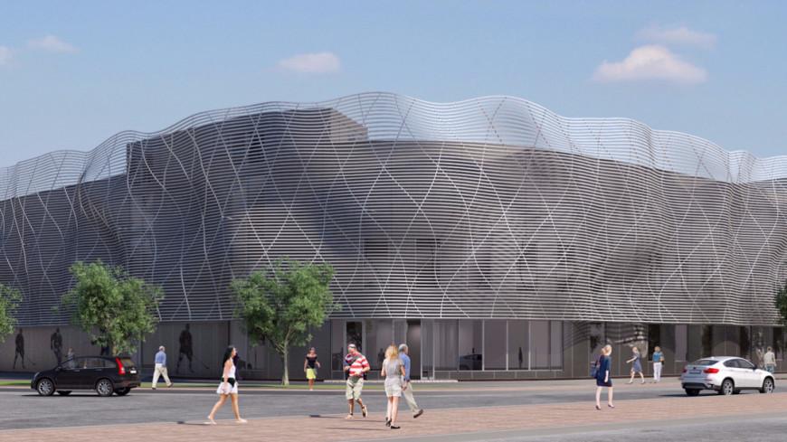 Ледовый дворец с 3D-фасадом откроют в Солнцеве в 2019 году