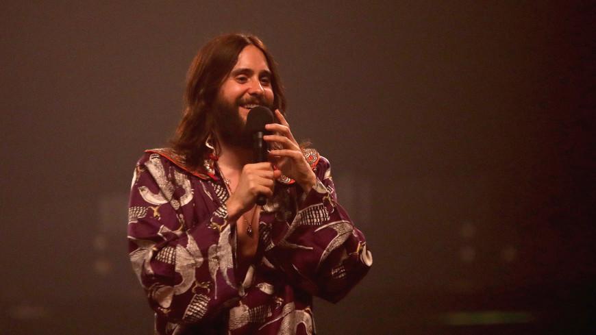 Песни и автографы: Джаред Лето встретился в России с фанатами