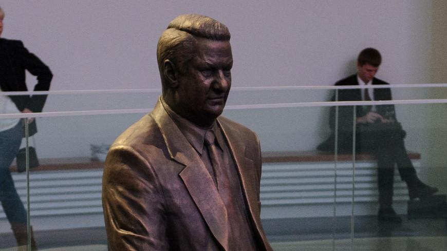 В Москве установят бюст Ельцина работы Церетели