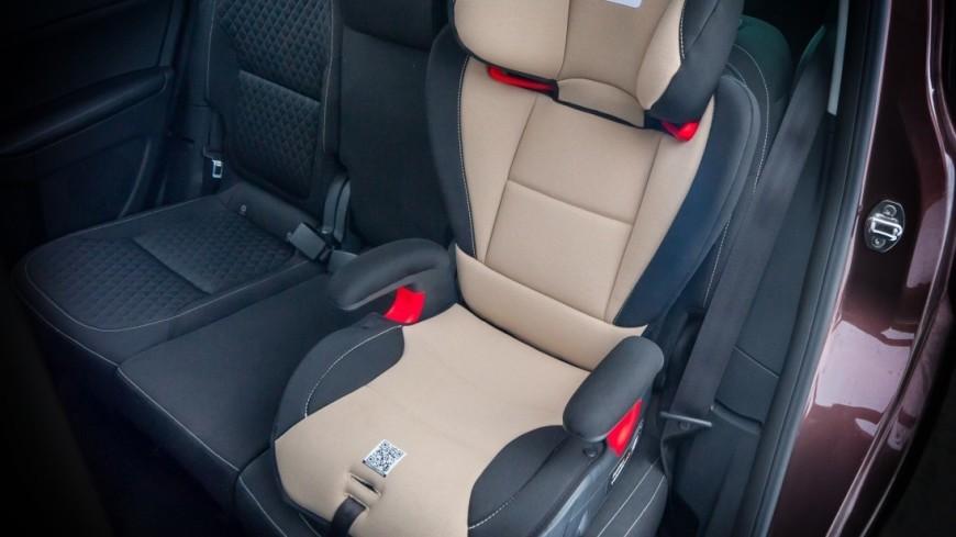 Детские автокресла с подушками безопасности поступили в продажу