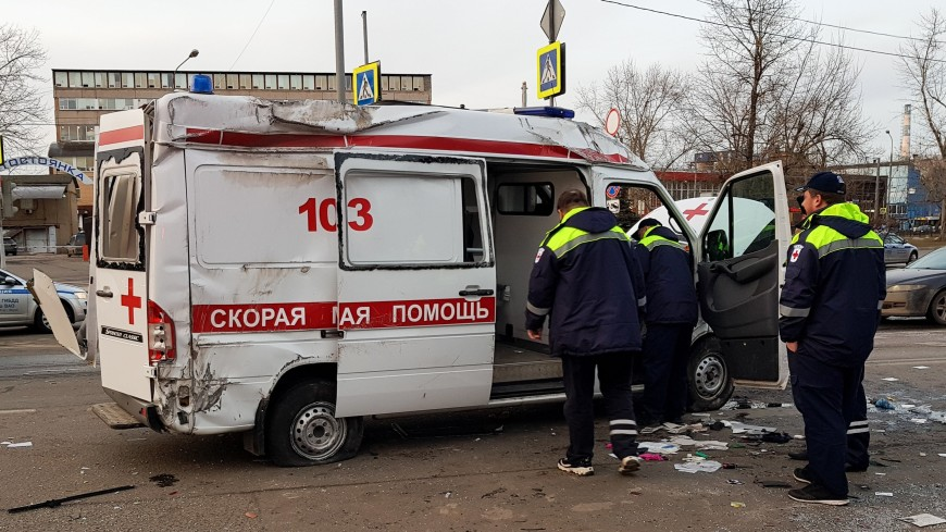 Стали известны подробности ДТП со «скорой» на востоке Москвы