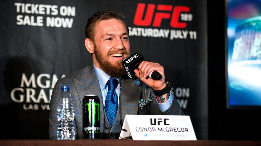 Экс-чемпион UFC Макгрегор проведет бой в 2018 году