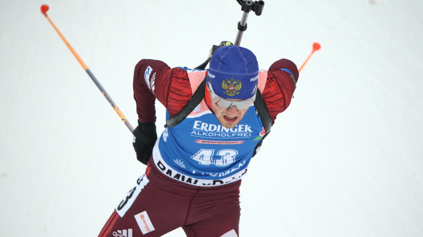 Бабиков выиграл гонку преследования на чемпионате России по биатлону