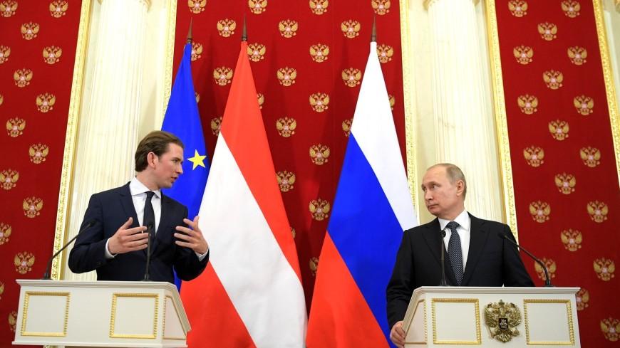 Путин обсудил с канцлером Австрии ситуацию в Сирии