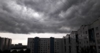 На Москву обрушился тропический ливень