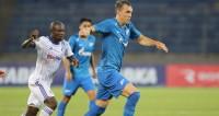 Зенит забил восемь мячей и прошел минское «Динамо» в Лиге Европы