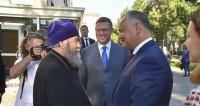 Президент Молдовы прибыл с рабочим визитом в Омск