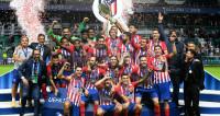 Мадридский «Атлетико» в третий раз выиграл Суперкубок УЕФА