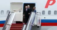 Путин прилетел в Актау для участия в Каспийском саммите