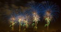 Пиротехническое шоу: небо Москвы озарили тысячи огней