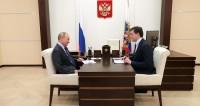 Глава Нижегородской области сообщил Путину о росте зарплат в регионе