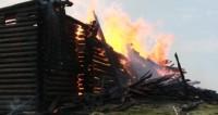 В Карелии сгорел храм XVIII века